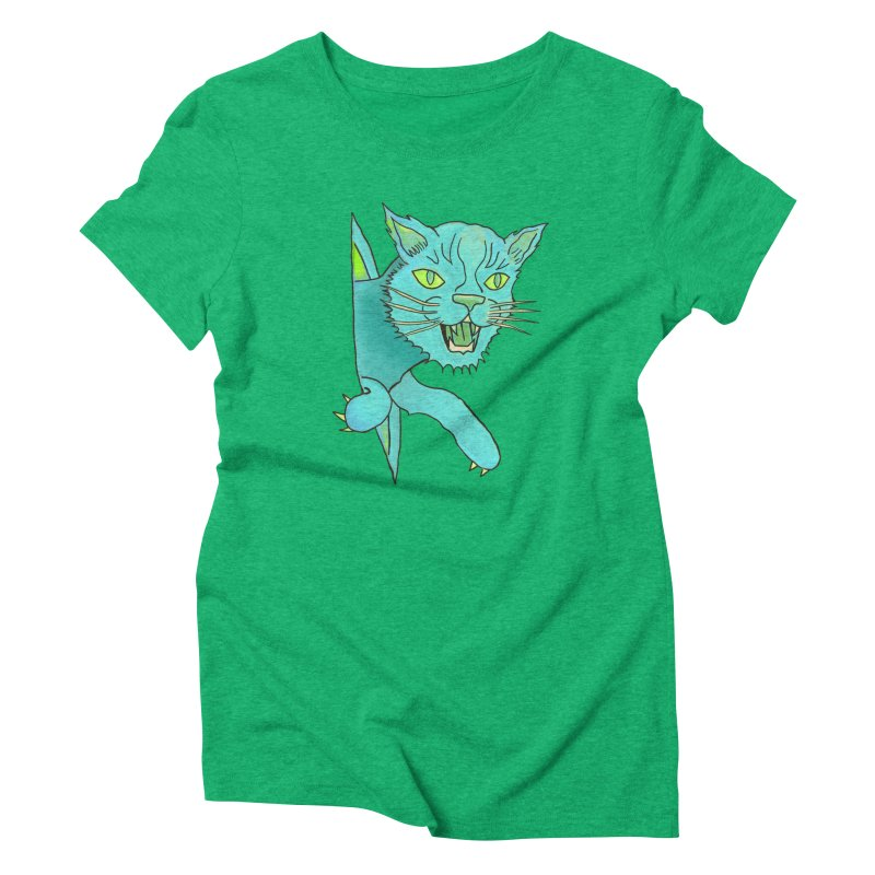 MeoW Women's Triblend T-Shirt by miskel's Shop