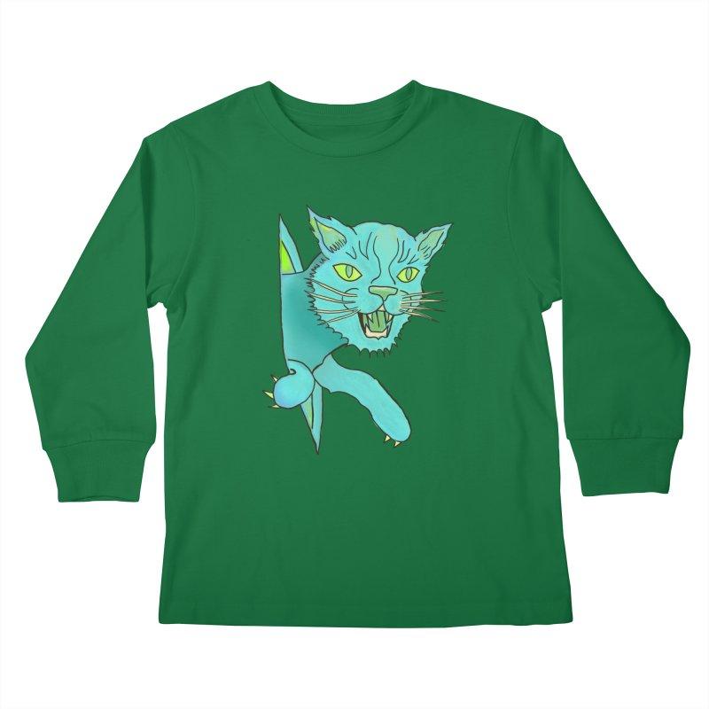 MeoW Kids Longsleeve T-Shirt by miskel's Shop