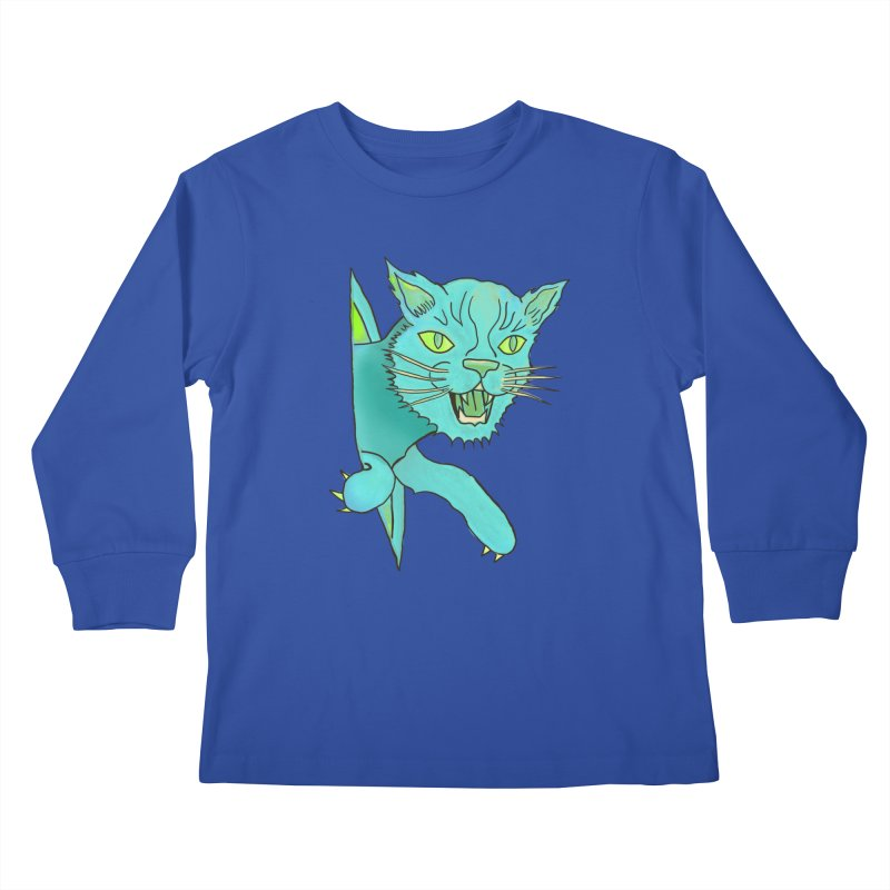 MeoW Kids Longsleeve T-Shirt by miskel's Shop