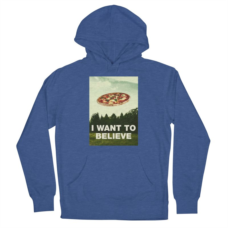 I WANT TO BELIEVE Men's Pullover Hoody by miskel's Shop