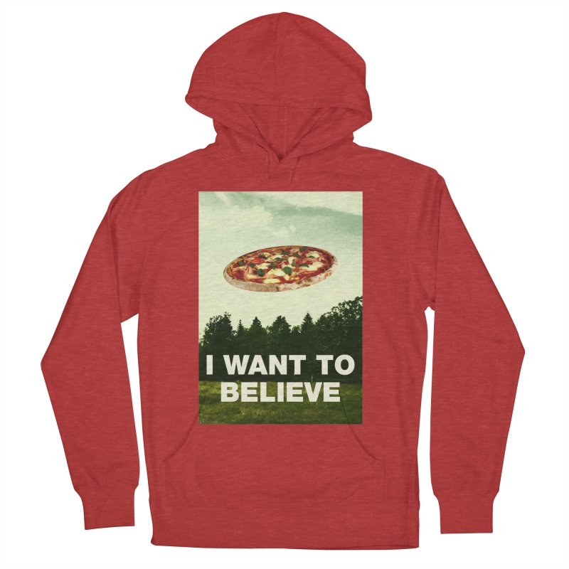 I WANT TO BELIEVE Women's Pullover Hoody by miskel's Shop