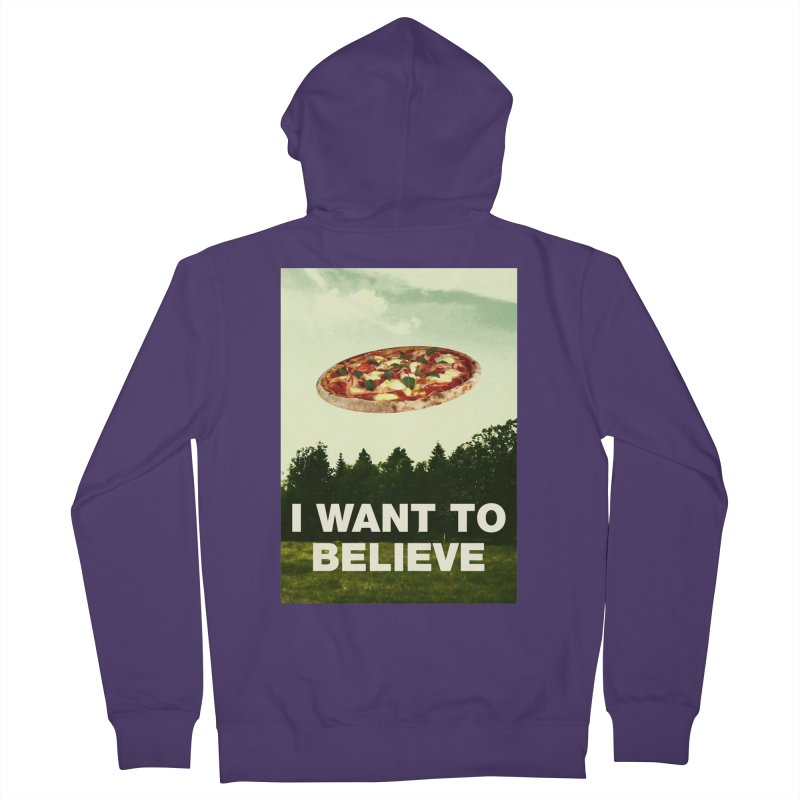 I WANT TO BELIEVE Women's Zip-Up Hoody by miskel's Shop
