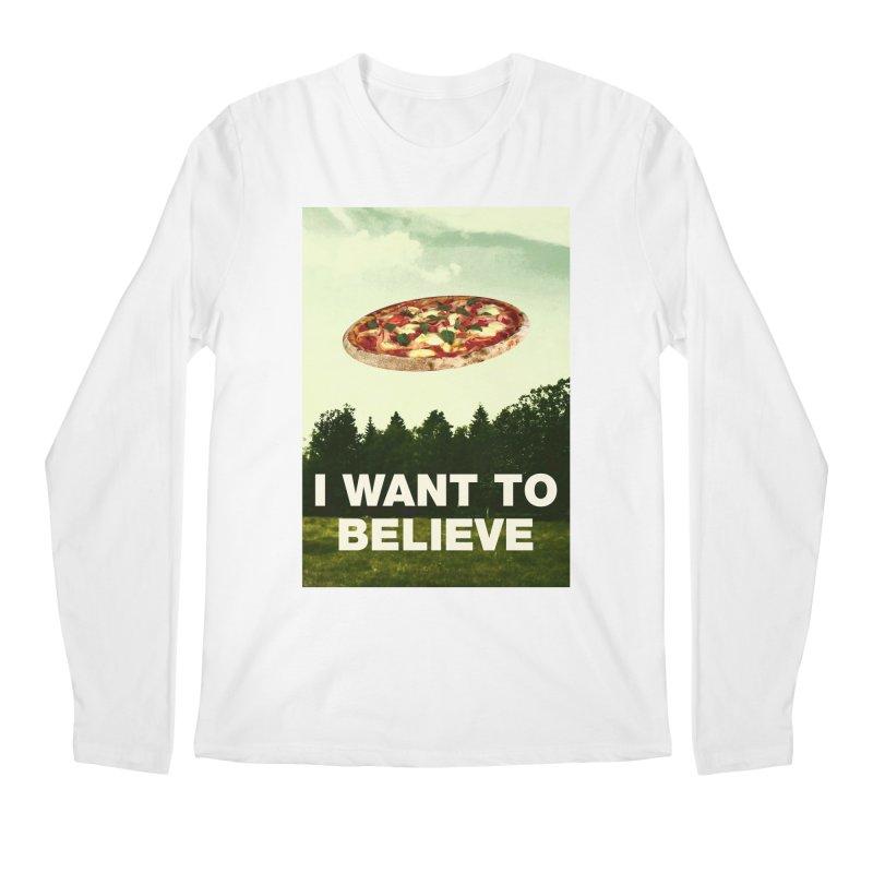 I WANT TO BELIEVE Men's Regular Longsleeve T-Shirt by miskel's Shop