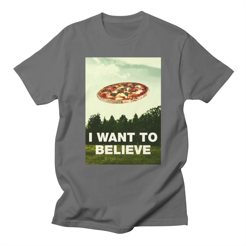 I WANT TO BELIEVE Men's T-Shirt by miskel's Shop