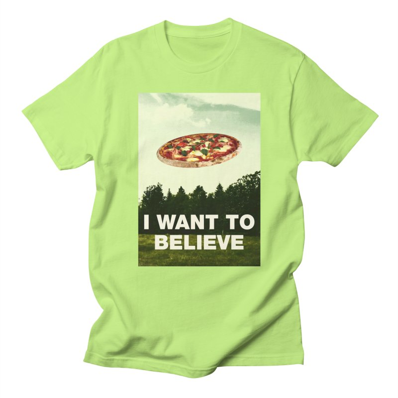 I WANT TO BELIEVE Men's Regular T-Shirt by miskel's Shop