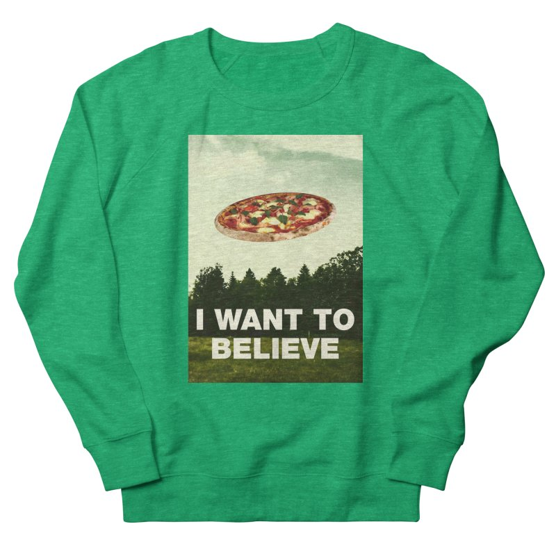 I WANT TO BELIEVE Women's Sweatshirt by miskel's Shop