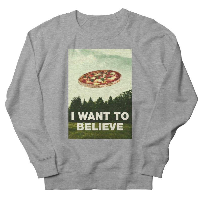 I WANT TO BELIEVE Women's Sweatshirt by miskel's Shop