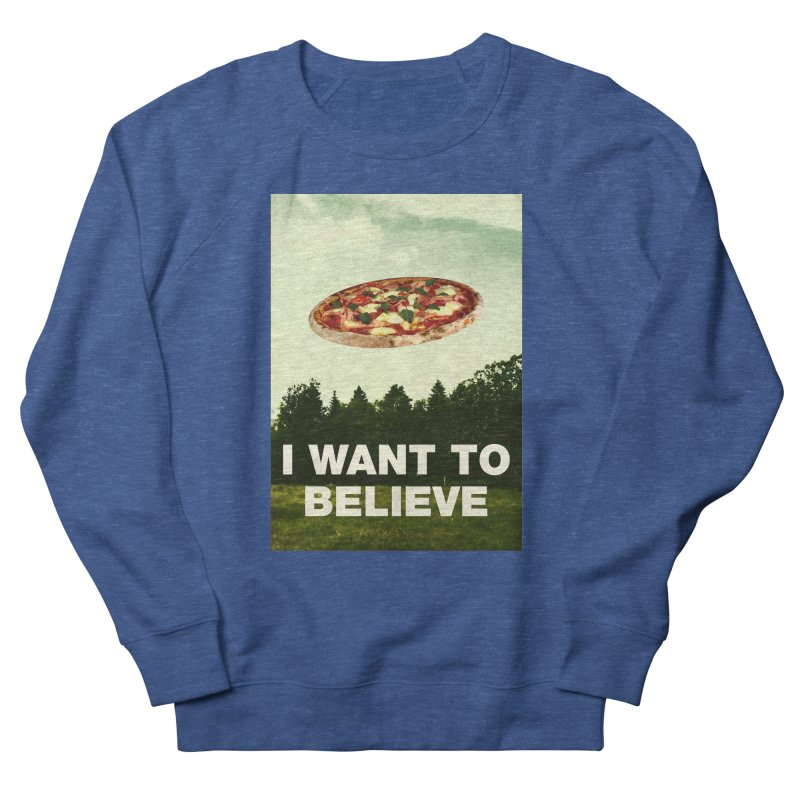 I WANT TO BELIEVE Men's Sweatshirt by miskel's Shop