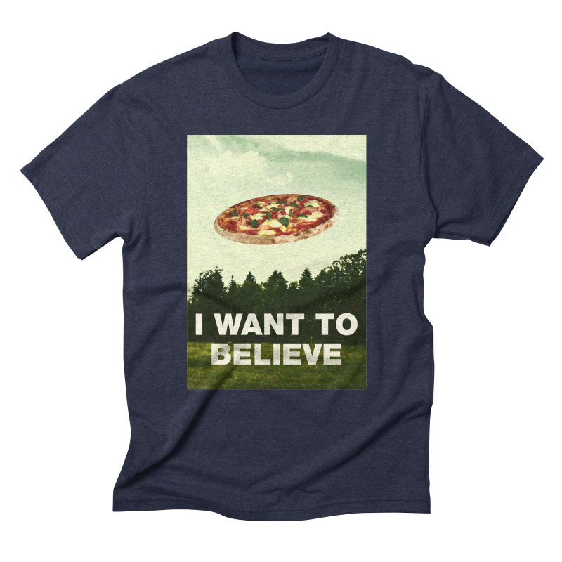 I WANT TO BELIEVE Men's Triblend T-shirt by miskel's Shop