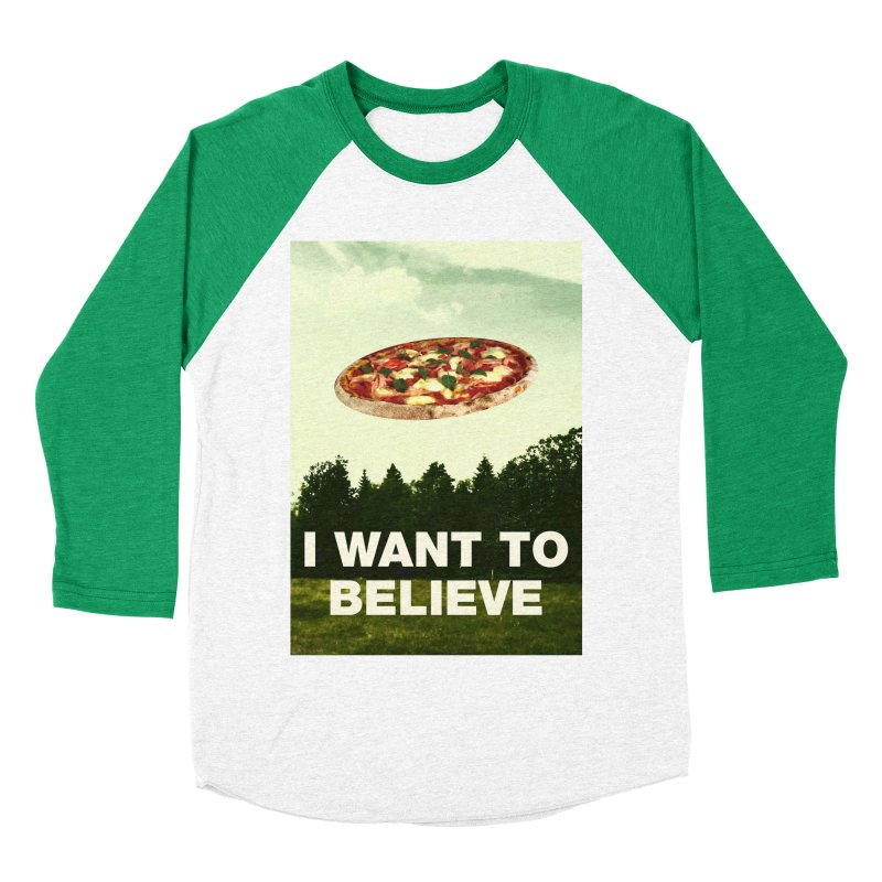 I WANT TO BELIEVE Women's Baseball Triblend T-Shirt by miskel's Shop