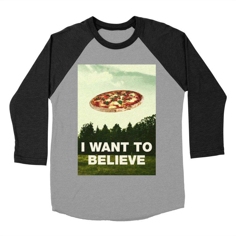 I WANT TO BELIEVE Women's Baseball Triblend Longsleeve T-Shirt by miskel's Shop