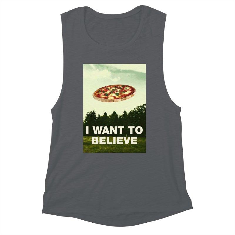 I WANT TO BELIEVE Women's Tank by miskel's Shop