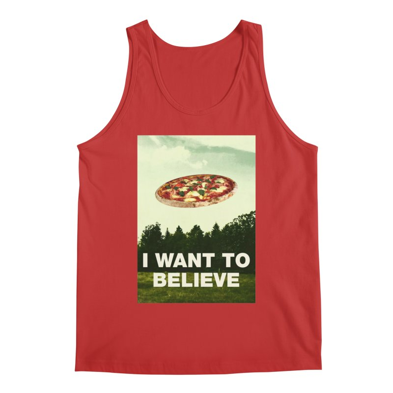 I WANT TO BELIEVE Men's Regular Tank by miskel's Shop