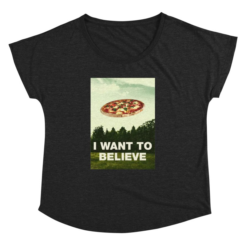 I WANT TO BELIEVE Women's Dolman by miskel's Shop