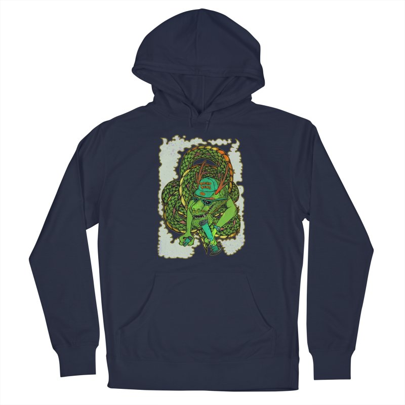 DRAGON BONG Men's Pullover Hoody by miskel's Shop