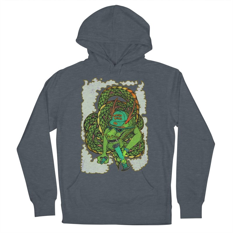 DRAGON BONG Women's French Terry Pullover Hoody by miskel's Shop