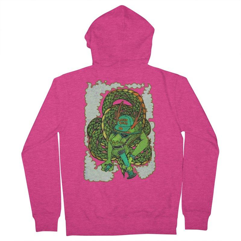 DRAGON BONG Women's Zip-Up Hoody by miskel's Shop