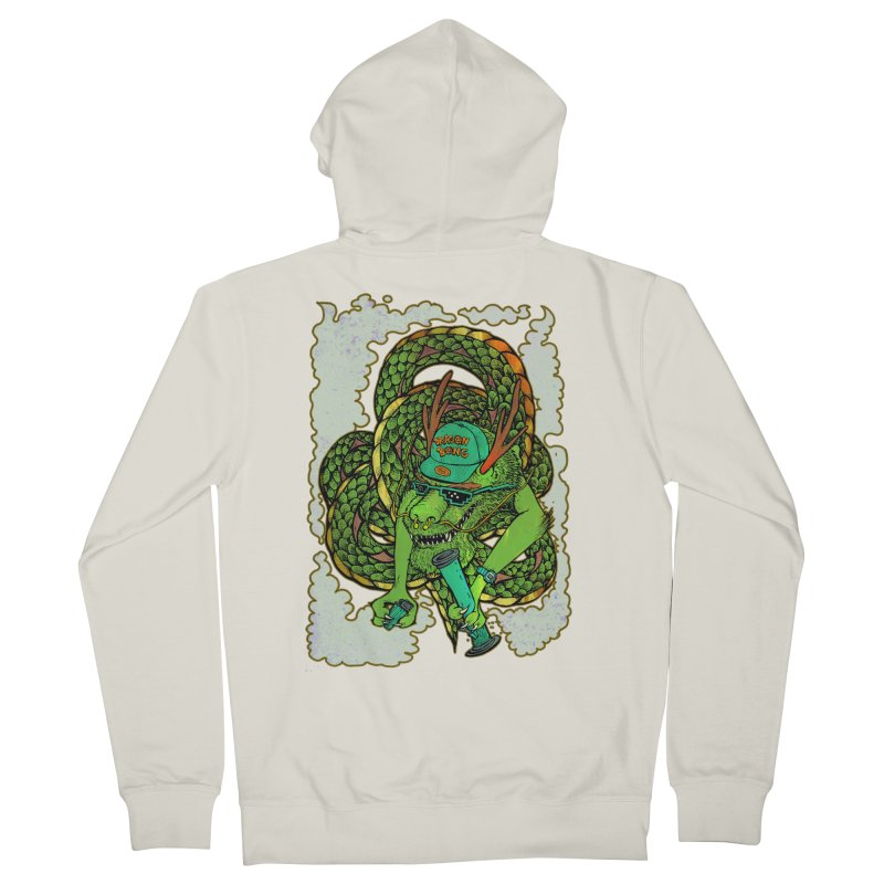 DRAGON BONG Women's French Terry Zip-Up Hoody by miskel's Shop