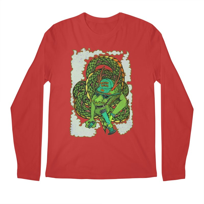 DRAGON BONG Men's Longsleeve T-Shirt by miskel's Shop