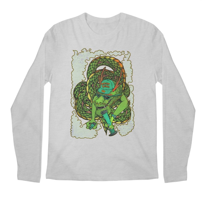 DRAGON BONG Men's Regular Longsleeve T-Shirt by miskel's Shop