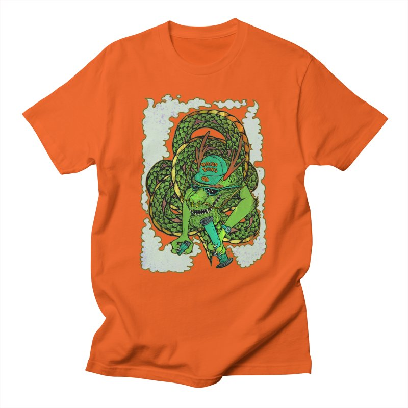 DRAGON BONG Men's Regular T-Shirt by miskel's Shop