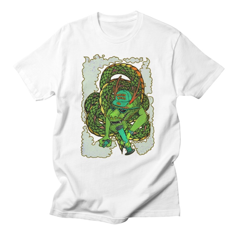 DRAGON BONG Men's Regular T-Shirt by miskel's Shop