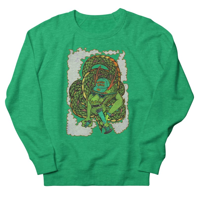 DRAGON BONG Women's French Terry Sweatshirt by miskel's Shop