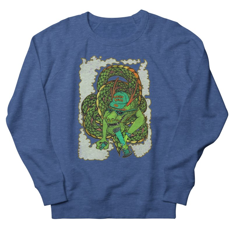 DRAGON BONG Men's French Terry Sweatshirt by miskel's Shop