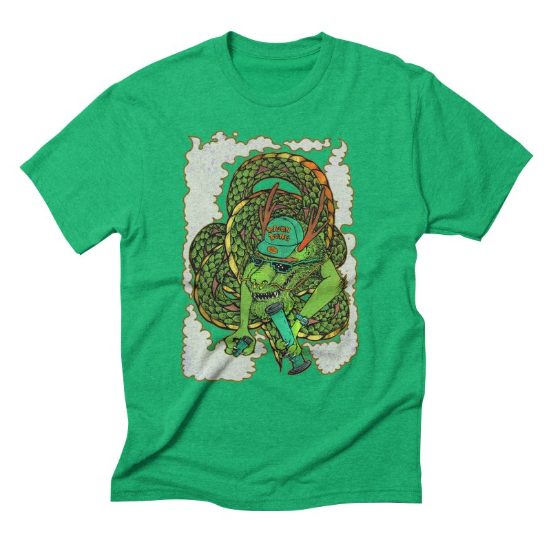 DRAGON BONG Men's Triblend T-Shirt by miskel's Shop