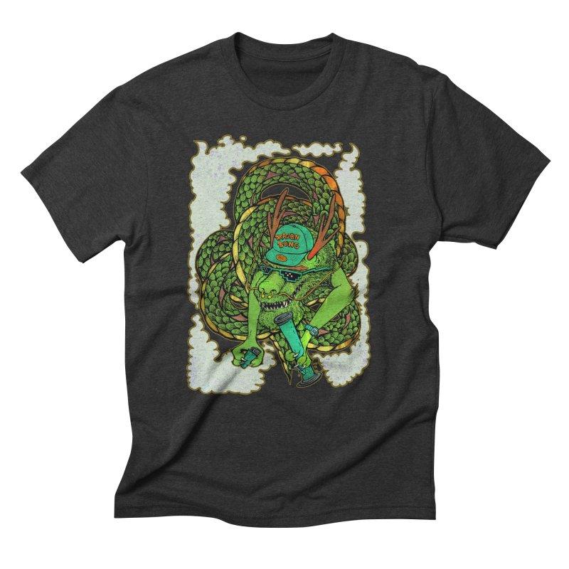 DRAGON BONG Men's Triblend T-Shirt by miskel's Shop