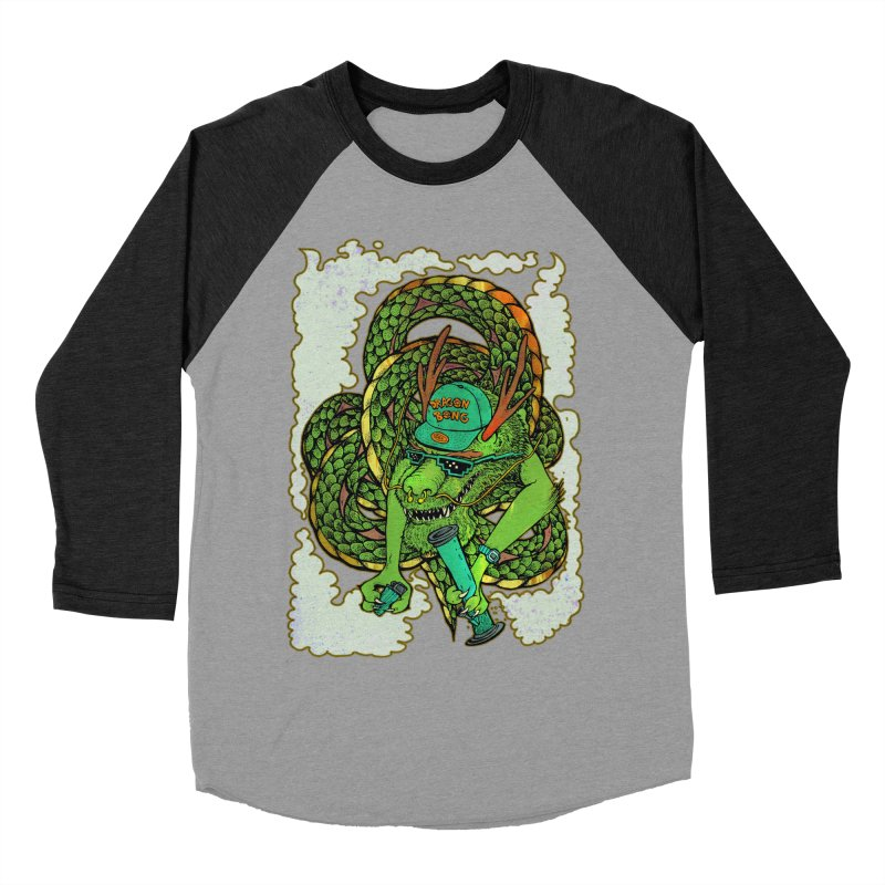 DRAGON BONG Women's Baseball Triblend Longsleeve T-Shirt by miskel's Shop