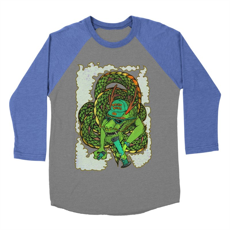 DRAGON BONG Men's Baseball Triblend Longsleeve T-Shirt by miskel's Shop