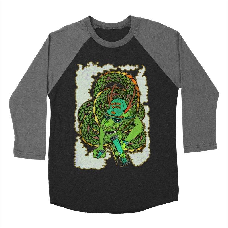 DRAGON BONG Men's Baseball Triblend T-Shirt by miskel's Shop