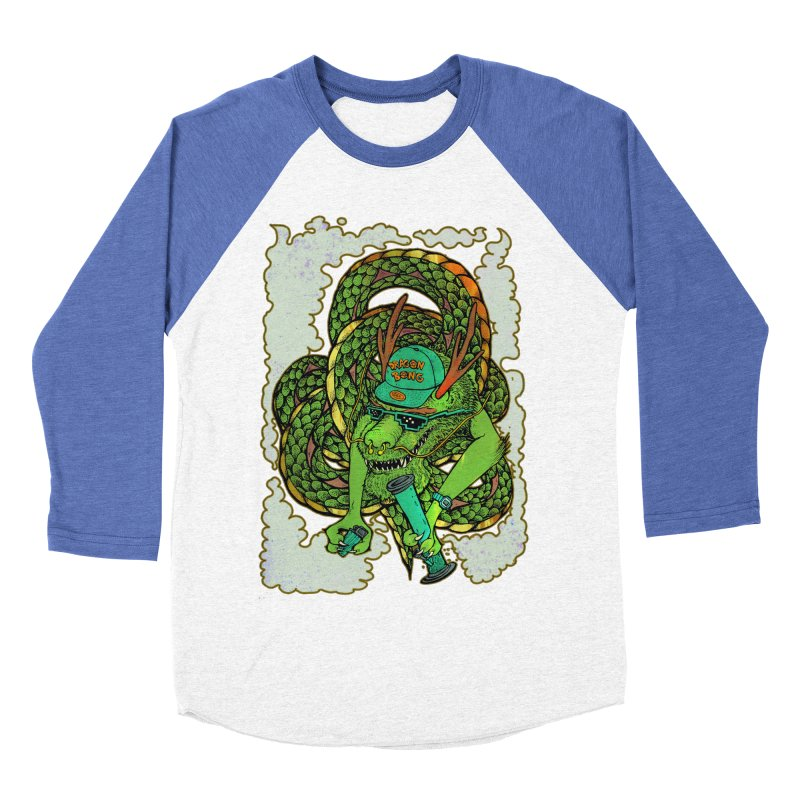 DRAGON BONG Men's Baseball Triblend Longsleeve T-Shirt by miskel's Shop