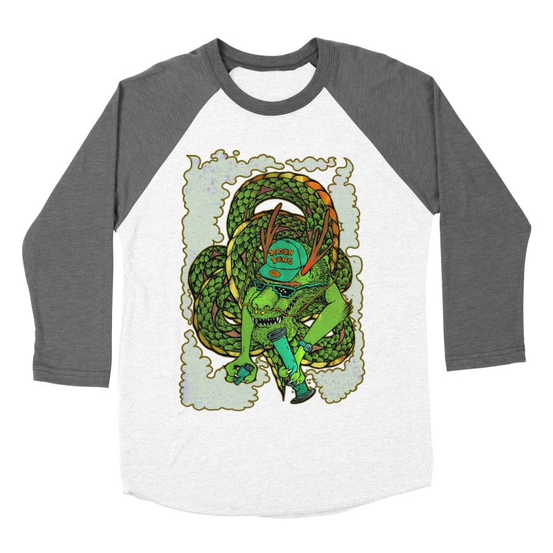 DRAGON BONG Men's Baseball Triblend T-Shirt by miskel's Shop