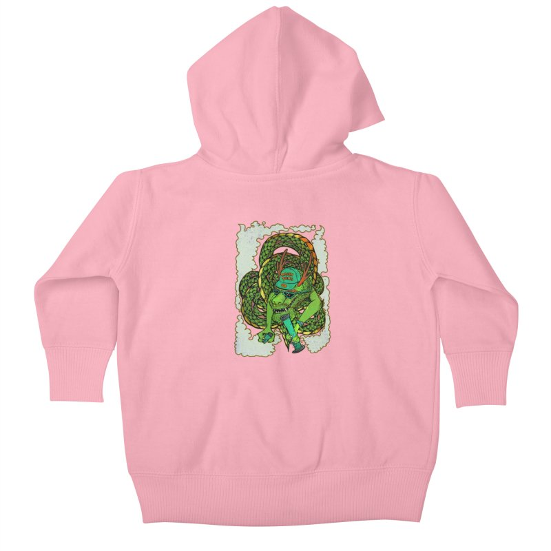 DRAGON BONG Kids Baby Zip-Up Hoody by miskel's Shop
