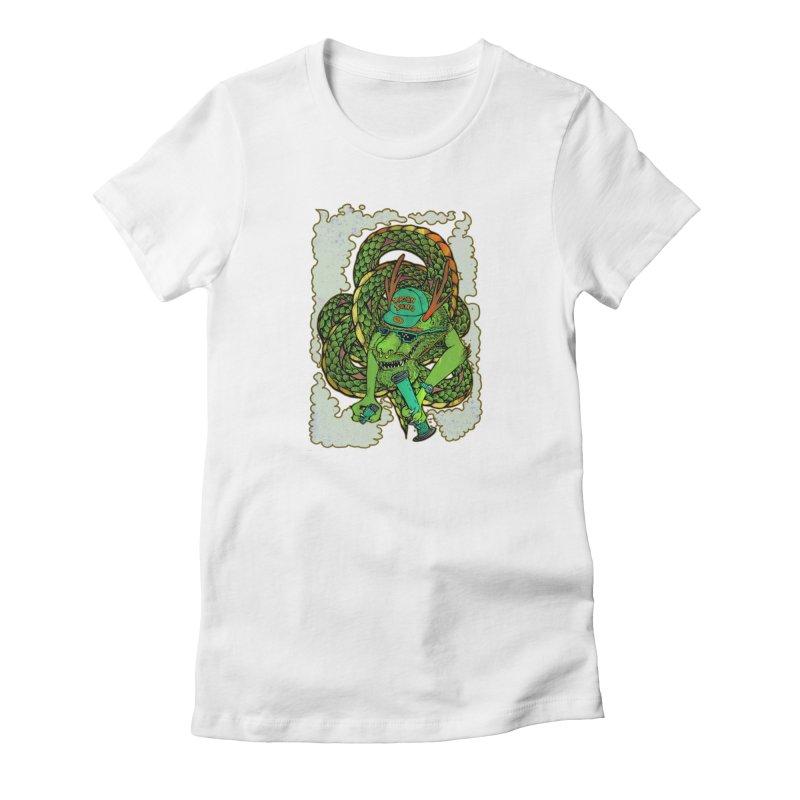 DRAGON BONG Women's T-Shirt by miskel's Shop
