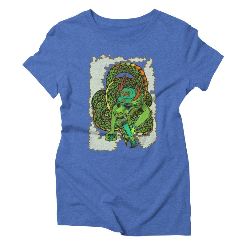DRAGON BONG Women's T-Shirt by miskel's Shop