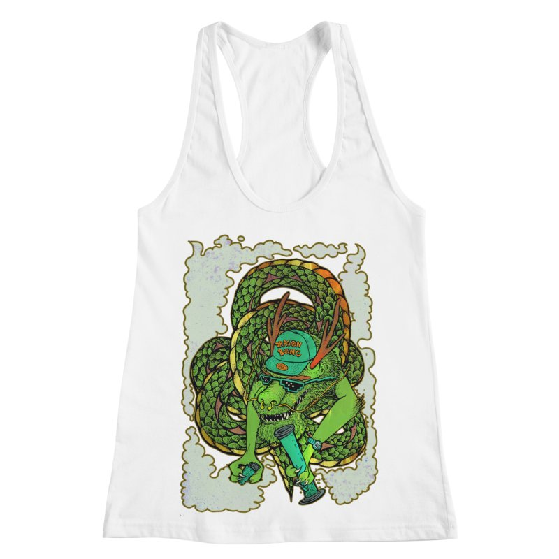 DRAGON BONG Women's Racerback Tank by miskel's Shop