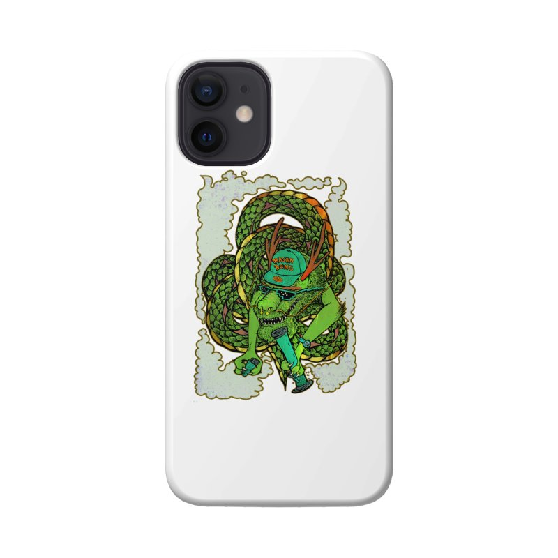 DRAGON BONG Accessories Phone Case by miskel's Shop