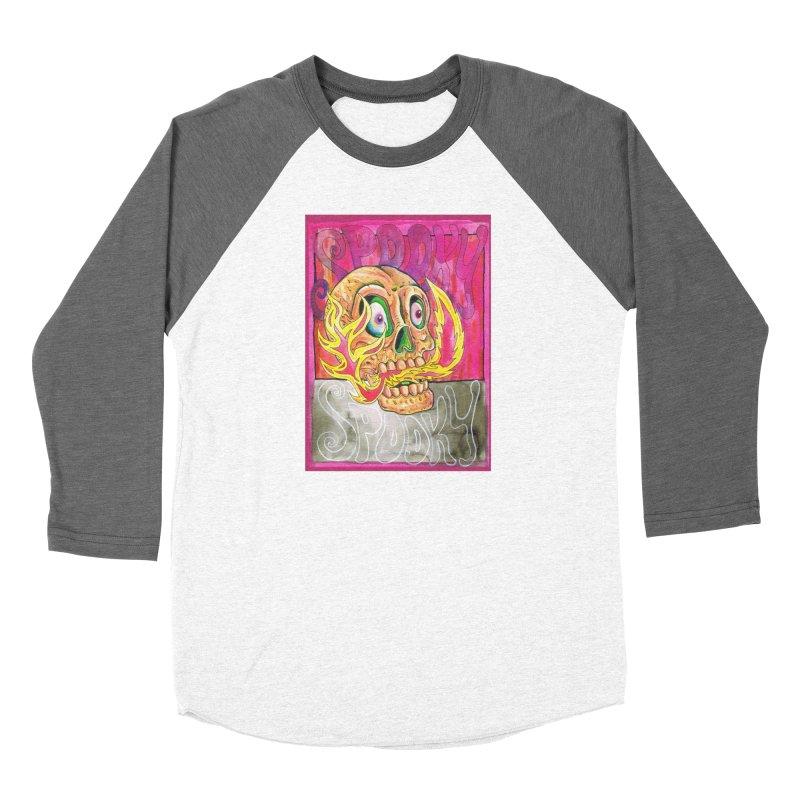 SPOOKY SPOOKY Women's Longsleeve T-Shirt by miskel's Shop