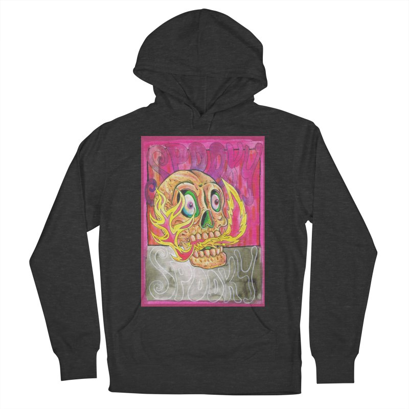 SPOOKY SPOOKY Women's French Terry Pullover Hoody by miskel's Shop