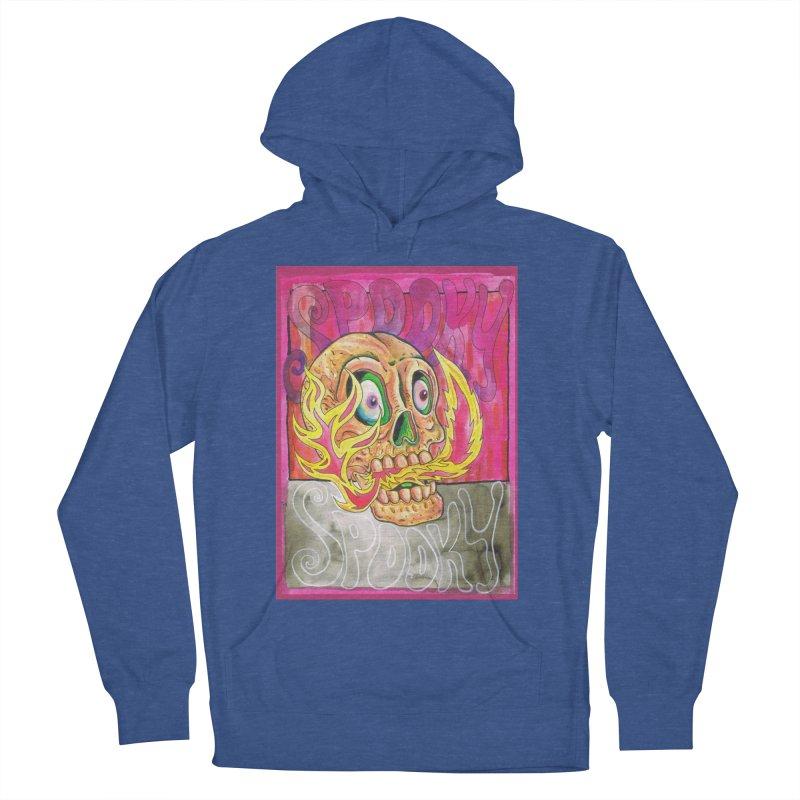SPOOKY SPOOKY Men's Pullover Hoody by miskel's Shop