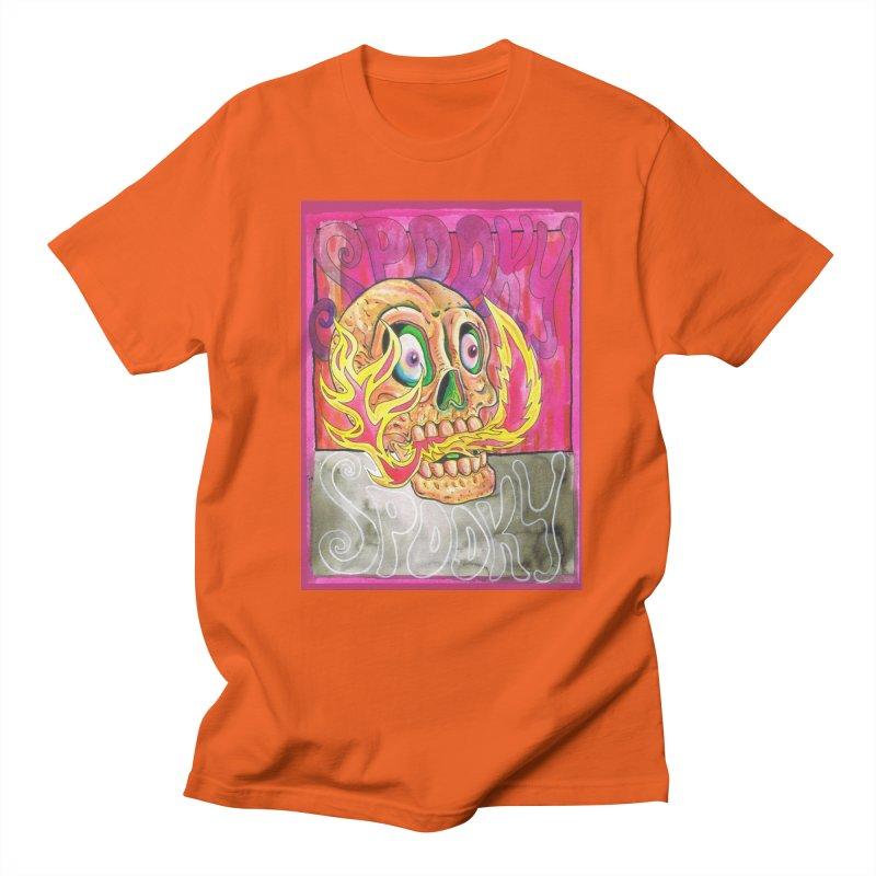 SPOOKY SPOOKY Men's T-Shirt by miskel's Shop