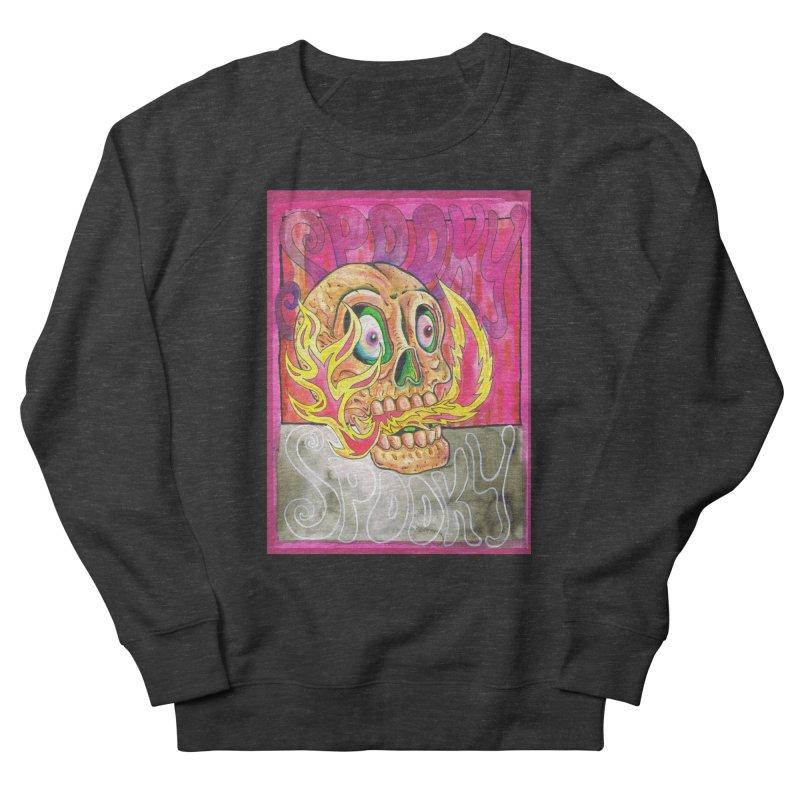 SPOOKY SPOOKY Women's French Terry Sweatshirt by miskel's Shop