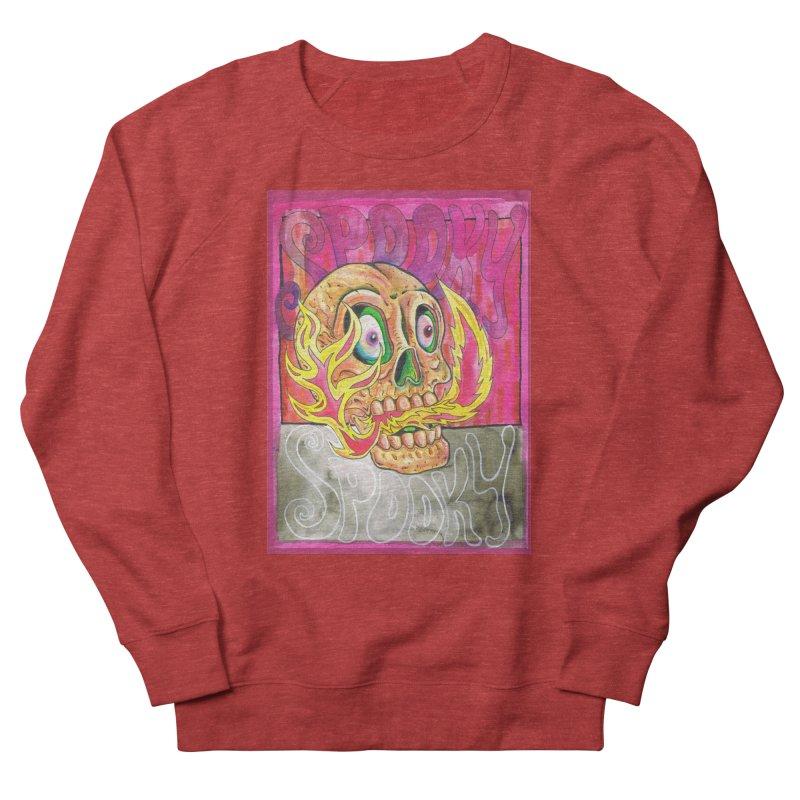 SPOOKY SPOOKY Women's Sweatshirt by miskel's Shop