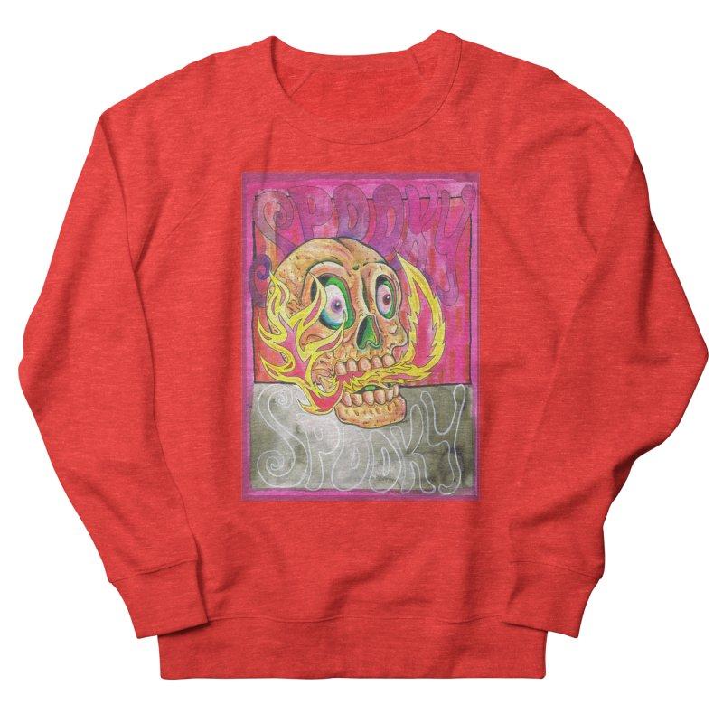 SPOOKY SPOOKY Men's Sweatshirt by miskel's Shop