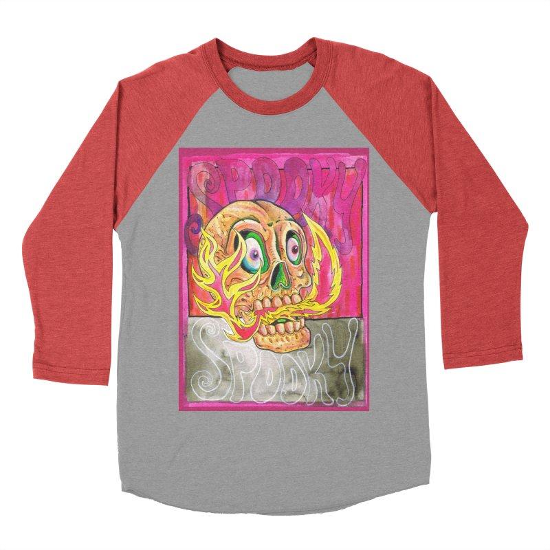SPOOKY SPOOKY Men's Longsleeve T-Shirt by miskel's Shop
