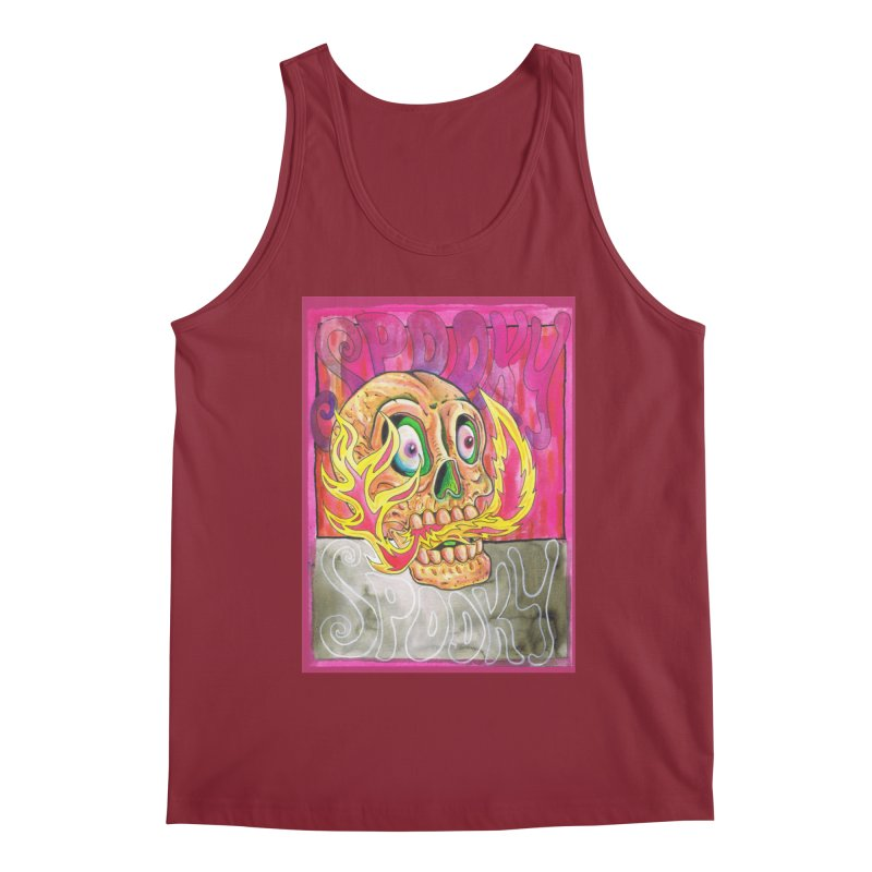 SPOOKY SPOOKY Men's Regular Tank by miskel's Shop