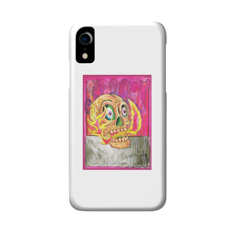 SPOOKY SPOOKY Accessories Phone Case by miskel's Shop